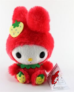 New My Melody Red Official Sanrio Plush Doll 6