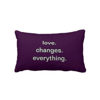 Love Quote Throw Pillows