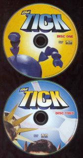 The Tick Complete Series Comic Book TV Show 2 Disc Set No Case