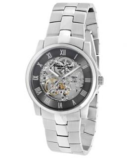 Kenneth Cole New York Watch, Mens Automatic Stainless Steel Bracelet