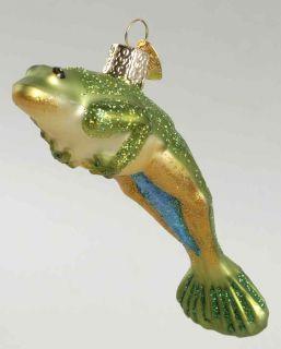 Merck Familys Old World Christmas Jumping Frog 8350971