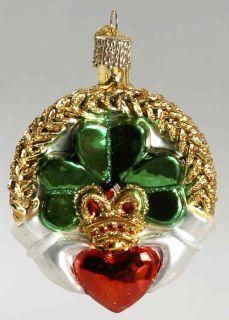 Merck Familys Old World Christmas Claddagh 8358101