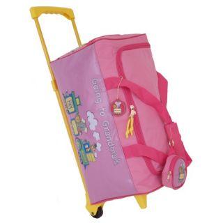 Mercury Luggage Going to Grandmas Childrens 17 Rolling Duffel Bag