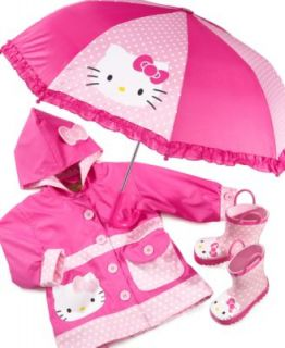 Western Chief Kids Rain Gear, Girls Hello Kitty Polka Dot   Kids
