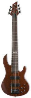 ESP D Series D 6 Six String Electric Bass Guitar Natural Satin