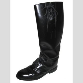 Eisers Mens Vintage English Equestrian Tall Field Riding Boots Black