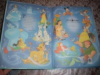 Disney The Little Mermaid Hardcover Large Book Mouse Works Classic