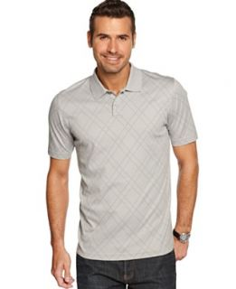 Tasso Elba Shirt, Diamond Interlock Polo Shirt