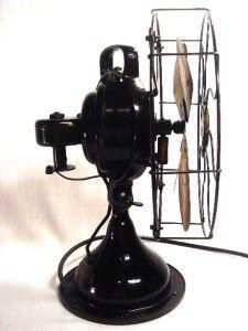 Vintage 12 Menominee Alternating Current Variable Speed Fan Works