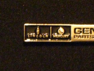 Lincoln Mercury Genuine Parts and Service Dealer Mini Metal Hat Pin