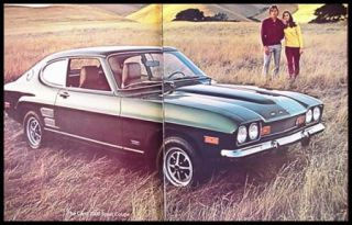 1972 Mercury Capri 2000 and V6 Dlx Brochure