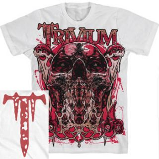Trivium Rise Up Official Shirt M L XL XXL Heavy Metal T Shirt New