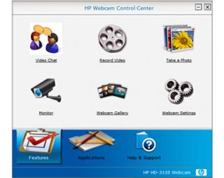 HP Webcam HD 2200 Model BR384AA ABA