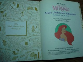 1989 Disney Little Mermaid Ariels Underwater Adventure