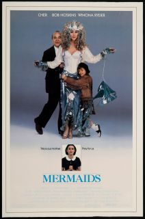 Mermaids 1990 Original U s One Sheet Movie Poster
