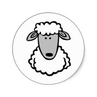 Shaun the Sheep Cute Cartoon Animal Sticker