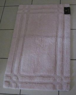 Ralph Lauren Pale Pink 21 x 34 100 Cotton Bath Mat Rug