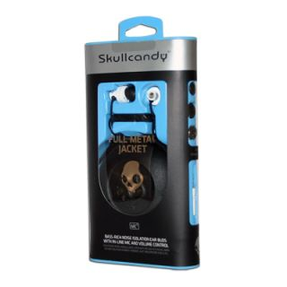 Skullcandy Full Metal Jacket Buds Microphone 11mm Earbuds Stereo MP3