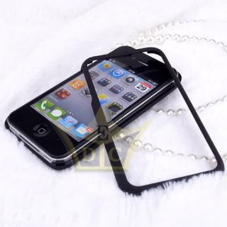 Black Aluminum Flake Hard Case Cover for Apple iPhone 4 4S CA88 AU