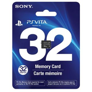 Official Sony PS Vita 32GB Memory Card Brand New SEALED for All