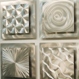Modern Abstract Metal Wall Art Sculpture Decor
