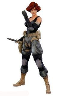 Metal Gear Solid Play Arts Kai Meryl Silverburgh Action Figure