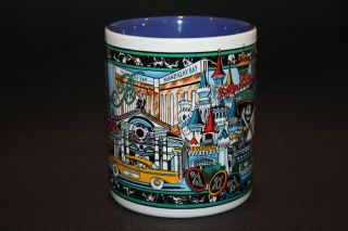 Strip Casino Hotel Mug Coffee Cup Souvenier MGM Paris Cityscape