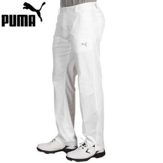New 2012 Puma Golf Style Mens Pants White