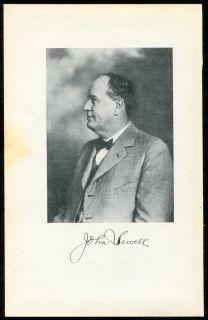 Historical Print John Sewell Early Miami Florida Pioneer Mayor