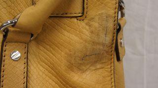Michael Kors North South Handbag Genuine Leather Python Hamilton Tote
