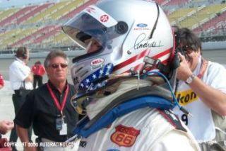Bell Racing Michael Andretti K 1 Mini Replica Helmet 06