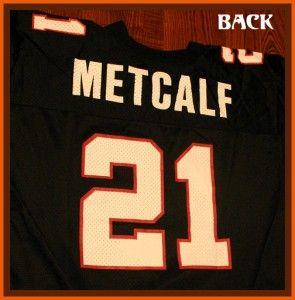15 DELIVERED Atlanta Falcons Eric Metcalf NFL Football Jersey XL 48