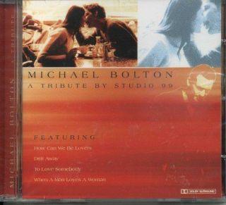 Tribute to Michael Bolton Michael Bolton Audio Music CD Pop L5