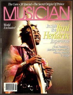Magazine 94 95 1986 Jimi Hendrix PT1 2 Prince Mike Campbell U2