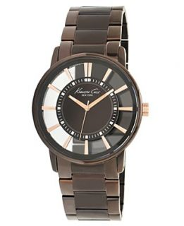 Kenneth Cole New York Watch, Mens Brown Ion Plated Stainless Steel
