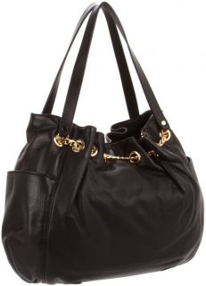 New Michael Kors Jet Set Chain Ring Tote 30S2GTCT3L Black NWT