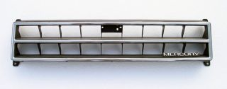 1984 86 Mercury Capri Used Front Grill