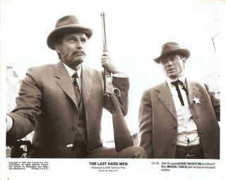 Charlton Heston Michael Parks The Last Hard Men 76