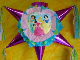 Pinata Princess Birthday Party Mexican Craft for Candy