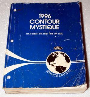 1996 Ford Contour Mercury Mystique Dealer Shop Service Repair Manual