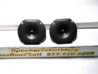 Pair Cerwin Vega vs Series 3 7 8 inch Tweeters Fits Many Models