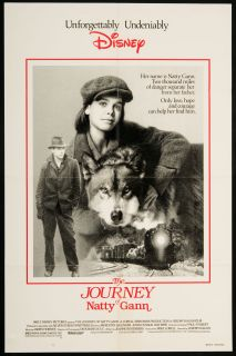 The Journey of Natty Gann 1985 Original U s One Sheet Movie Poster