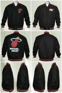 Miami Heat Wool Reversible Black Jacket XL $200