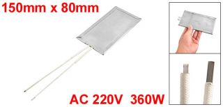 220V 360W Stainless Steel Mica Heater Plate Heating Element 150mm x