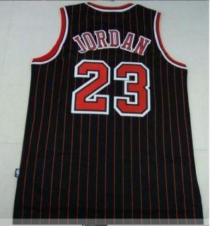 Michael Jordan Chicago Bulls 23 Swingman Black Jerseys