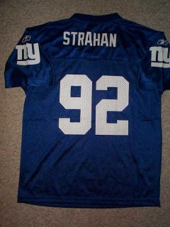 Reebok New York Giants Michael Strahan NFL Throwback Jersey Youth Kids