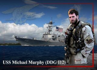 US NAVY SEAL TEAM MEMBER LT MICHAEL MURPHY PATCH!