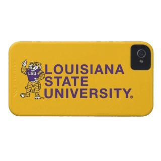 LSU Mascot   Louisiana State University iPhone 4 Cover