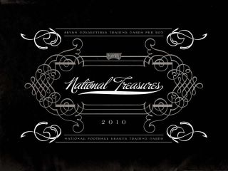 2010 National Treasures Football Box 1 Break Jets