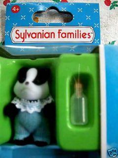 Sylvanian Families Badger Baby Boy Hugh Underwood MISB